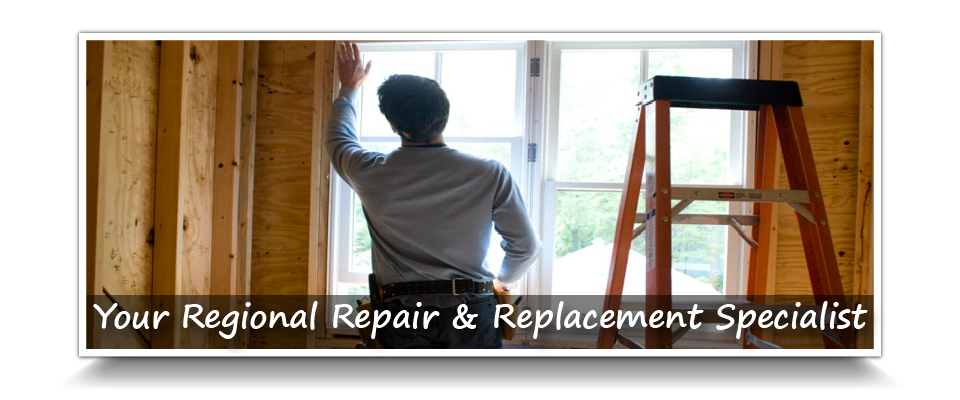 Your Regional Repair & Replacement Specialist | Working on window in house